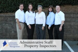 Administration Staff and Property Inspectors at Community Association Management