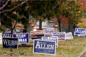 How to Handle North or South Carolina Political Yard Signs in Your HOA or Community