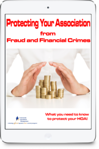 Protecting your Association from Fraud and Financial Crimes