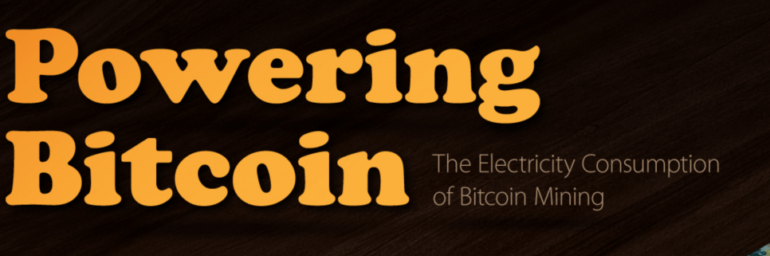 Read & Share: Visualizing the Power Consumption of Bitcoin Mining